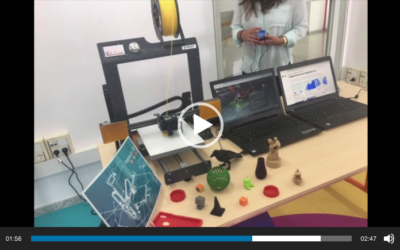 Vídeo de la creación de las dos aulas pilotos de espacios creativos