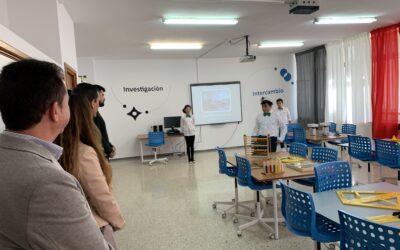 Inauguración de los Espacios Creativos del CEIP Pintor Manolo Millares