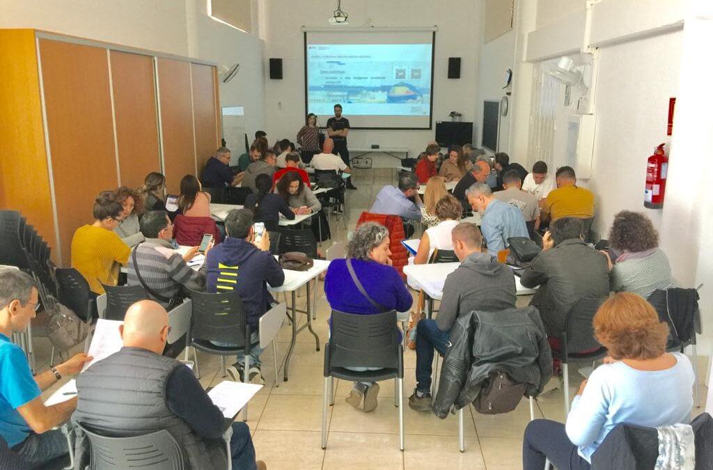 El Proyecto «Espacios Creativos. Aulas del Futuro en Canarias» en la red de coordinadores y coordinadoras TIC de Canarias