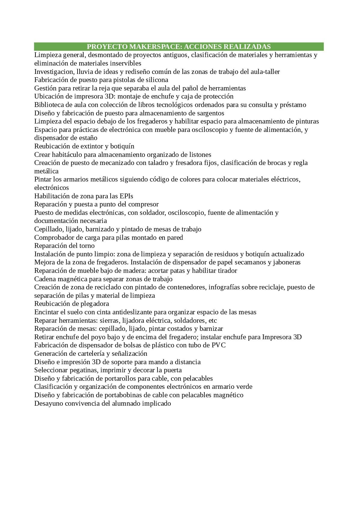 Espacio(s) creativo(s) del IES MESA Y LÓPEZ - 35008561