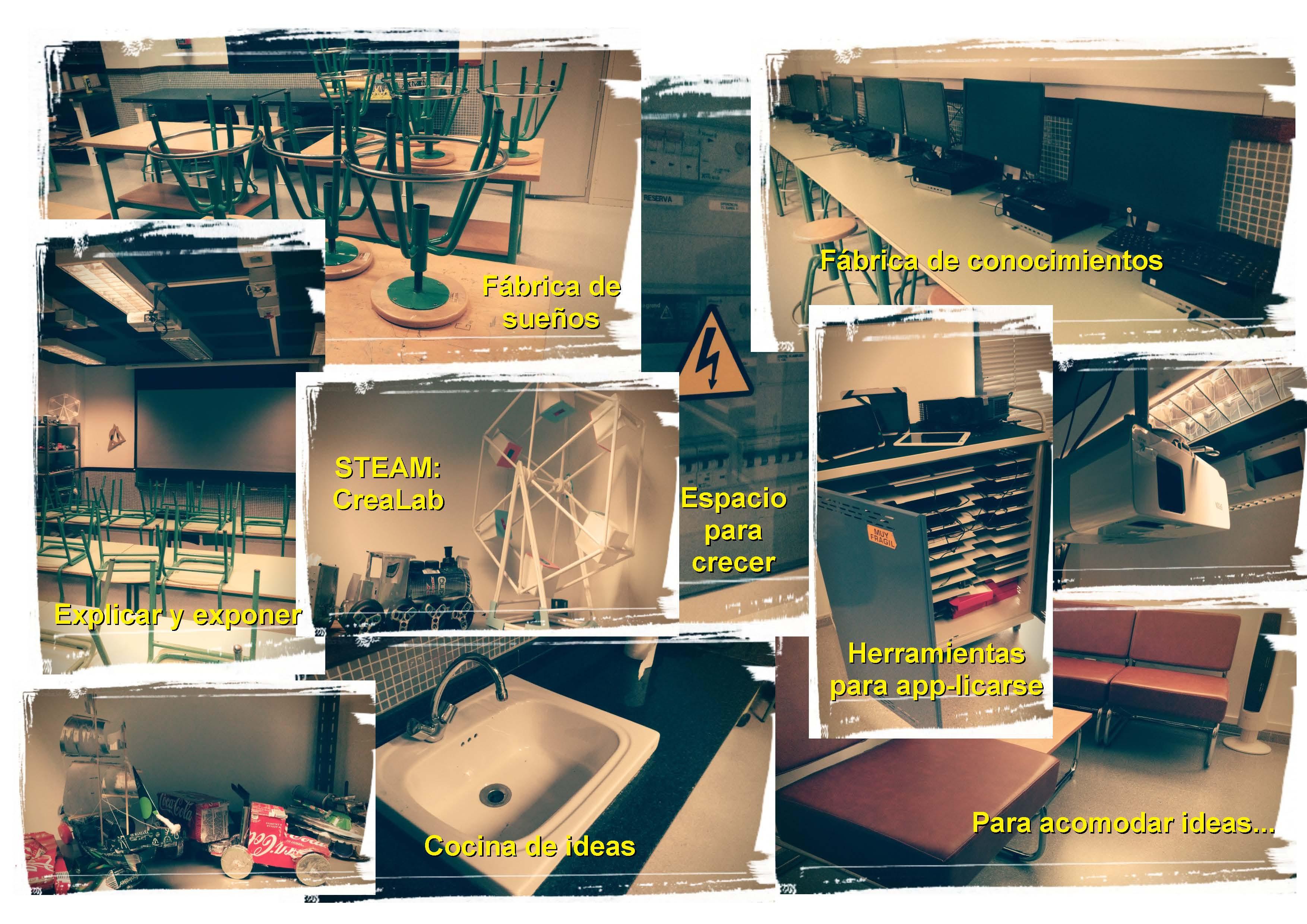 Espacio(s) creativo(s) del IES PUERTO DEL CARMEN - 35013787