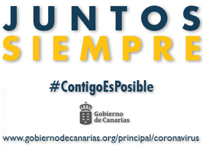 Imagen y enlace a la campaña #ContigoEsPosible