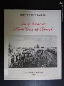 Cubiertas del libro Nueve horas en Santa Cruz de Tenerife.