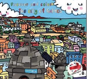 Descubre y colorea la ciudad de Galdós. Traducida al inglés.