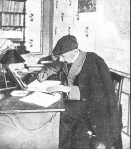 Don Benito escribiendo Zumalacárregui.