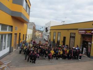 Visita al casco histórico del pueblo de Granadillla de Abona.