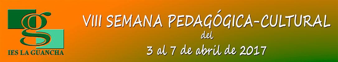 VIII semana pedagogico cultural del IES La Guancha