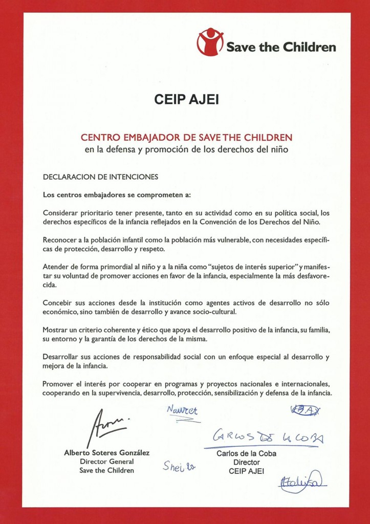 CEIP AJEI-SAVE THE CHILDRENS