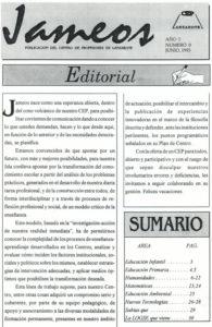 Revista Jameos nº 0 - 1993