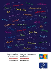 Poster multilingue European day of languages