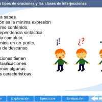Las interjecciones. Proyecto Descartes PI