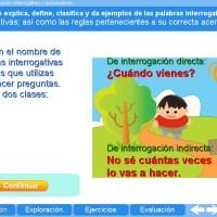 Acentuación interrogativos y exclamativos. Proyecto Descartes PI