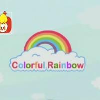 El color rojo - Los colores del arco iris, para niños.