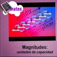 Magnitudes: las unidades de capacidad