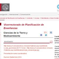 Programa de CTMA de la Universidad de Murcia