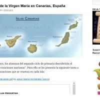 Advocaciones de la virgen en Canarias