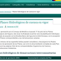 Planes Hidrológicos