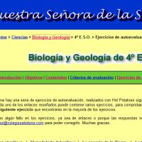 Ejercicios de autoevaluación bio y geo 4ESO