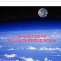 Balance de la atmósfera