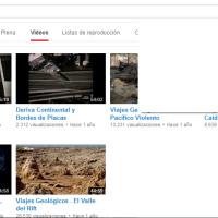 Vídeos tectónica