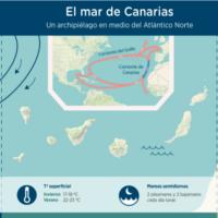 Infografía: El mar de Canarias