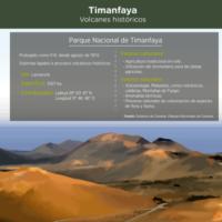 Infografía: Timanfaya, volcanes históricos