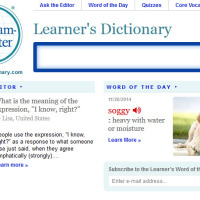 Merriam-Webster's Learner's Dictionary