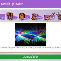 Luz, sonido y color