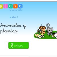 Pelayo y su pandilla. Animales y plantas.