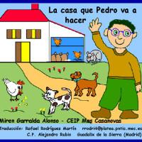 La casa que Pedro va a hacer.