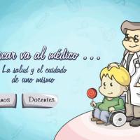 Óscar va al médico.