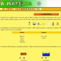 La web de la materia en la naturaleza