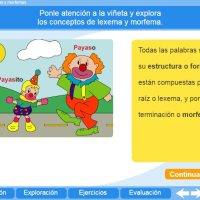 Lexemas y morfemas. Proyecto Descartes PI