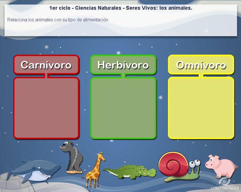 Juegos de animales  Recursos educativos digitales