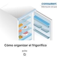 Cómo organizar el frigorífico