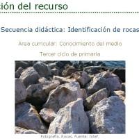 Identificación de rocas