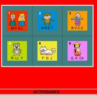 JClic: Actividades de lectoescritura