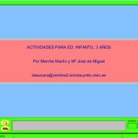 JClic: Actividades para Ed. Infantil 3 años