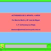 JClic: Actividades para Ed. Infantil 4 años