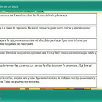Ordenar la información de un texto