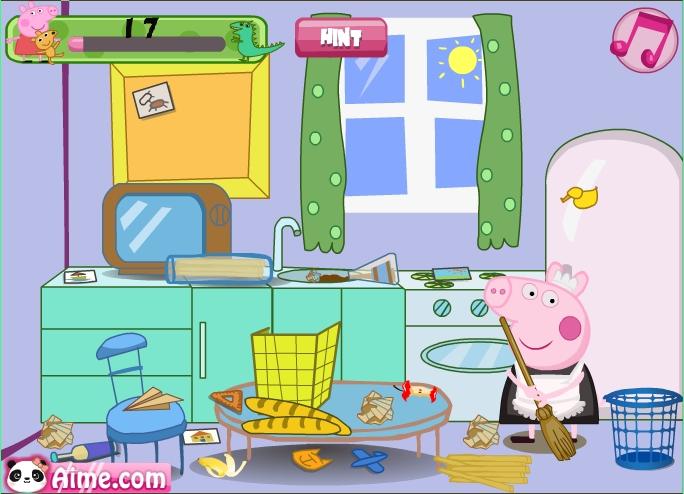 Juegos de ordenar casas best captura de pantalla del - Limpiar la casa de barbie ...