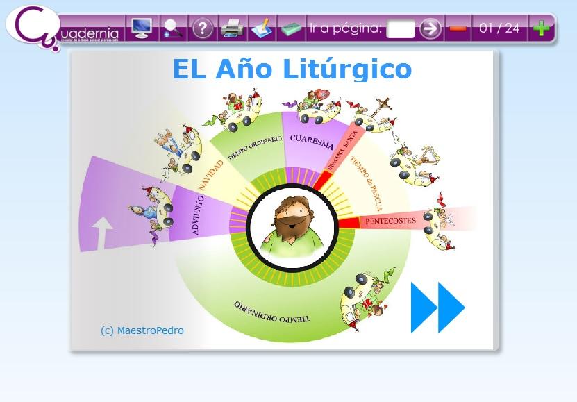 » Calendario Recursos Litúrgico Digitales El Educativos iXOPZkTu