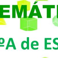 Matemáticas orientadas a las enseñanzas aplicadas: CUARTO A DE ESO DE MATEMÁTICAS