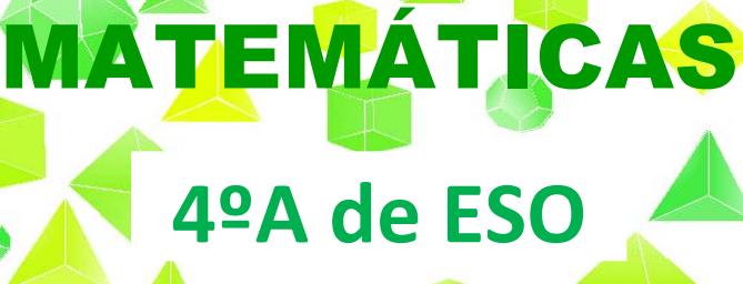 Matemáticas orientadas a las enseñanzas aplicadas: CUARTO A DE ESO ...