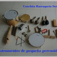 Instrumentos de pequeña percusión