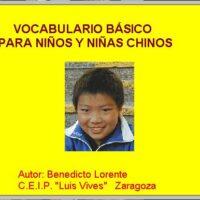 Vocabulario básico Chino