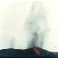 Erupción del Volcán Teneguía en la Isla de La Palma en 1971