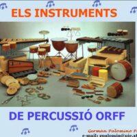 Los instrumentos de percusión Orff