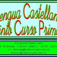 Lengua castellana – 5º de Primaria