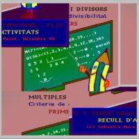Fracciones, múltiplos y divisores. Fracciones, múltiplos y divisores